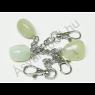 Jade kínai fúrt kulcstartó