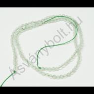Jade kínai halvány 4 mm-es golyós szál