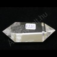 Hegyikristály egyedi csiszolt kétcsúcs 8220