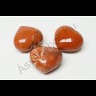 Jáspis közép szív marokkő