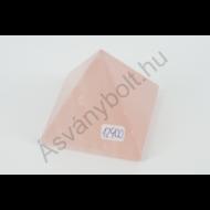 Rózsakvarc extra piramis 12900