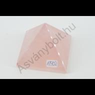Rózsakvarc extra piramis 13900
