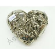 Pirit faragott szív dísztárgy 17540