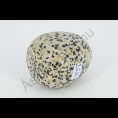 Dalmata jáspis extra egyedi marokkő 2650