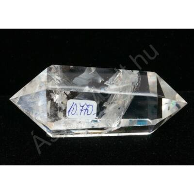 Hegyikristály egyedi csiszolt kétcsúcs 10770