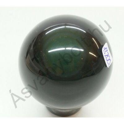 Obszidián szivárványos golyó csiszolat 13200